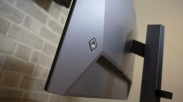 The OSD control joystick of the HP Z27u G3