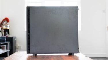 The side of the Chillblast Fusion Threadripper Pro RTX 3975WX Workstation
