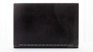 The underside of the Lenovo Yoga 9i 14in (Shadow Black)