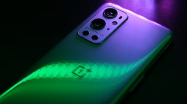 The back cover of the OnePlus 9 Pro