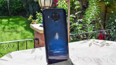 The rear of the Nokia 5.4
