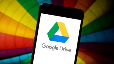 Google Drive app displayed on a mobile