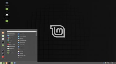 Screenshot of the Linux Mint operating system user interface
