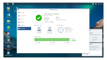 Synology DiskStation DS1621xs+ storage manager