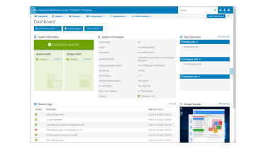 Dell EMC PowerEdge XE2420 monitoring software
