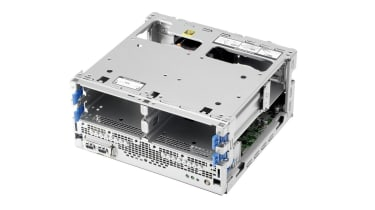 HPE MicroServer Gen10 Plus internal chassis