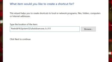 Windows 10 Shutdown