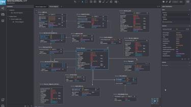 SQLDBM interface