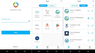 The VMWare Workspace One Airwatch mobile platform