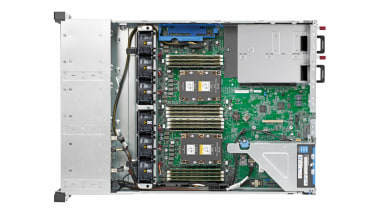 HPE ProLiant DL180 Gen10 open chassis