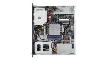 Broadberry CyberServe Xeon E-RS100-E10 open chassis