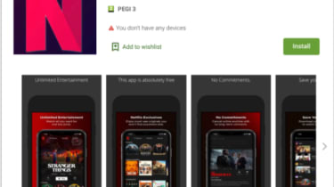 Flix Online Malware pretending to be Netflix