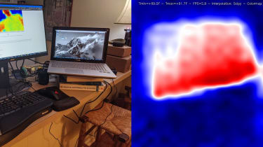 Raspberry Pi-based thermal camera