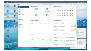 Synology DiskStation DS1621+ software
