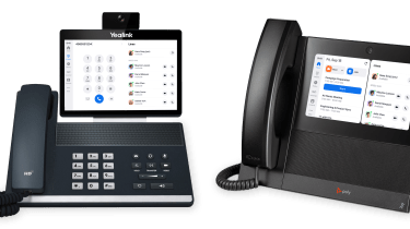 Yealink and Poly video conferencing phones with Zoom software