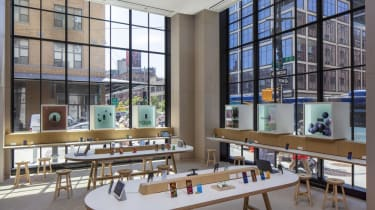 Spaces to test and experience Google hardware at its New York store