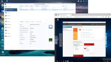 Synology RackStation RS2421RP+ VM manager