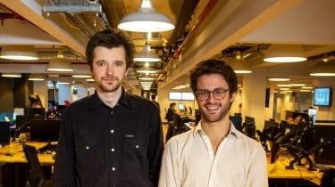 Tractable CEO Alex Dalyac and CTO Razvan Ranca