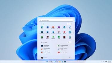 Windows 11's new central start menu