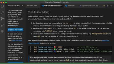 A screenshot of Microsoft's VSCode IDE