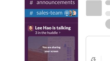 Slack's new collaboration feature 'Slack Huddles'