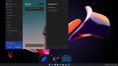 A screenshot of Windows 11's Virtual Desktops