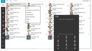 3CX webclient and desktop app