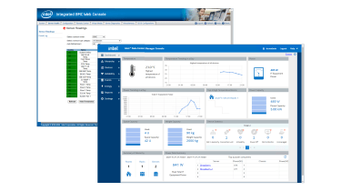 A screenshot of the Broadberry CyberServe SP2 208-8I G3's management software