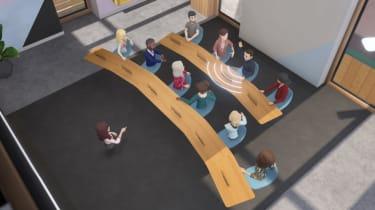 Demonstration of spatial audio on Horizon Workrooms