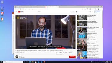 A screenshot of Windows 365 running YouTube
