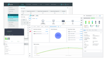 A screenshot of the TP-Link TL-SG3210XHP-M2's management software