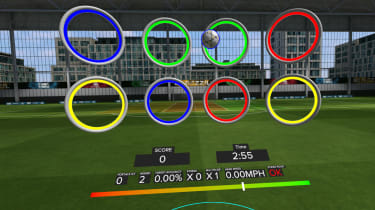 A screenshot of Rezzil's VR training software