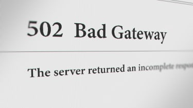 502 Bad Gateway page that pops up when a website has a connection issue with its server