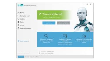 A screenshot of Eset Internet Security