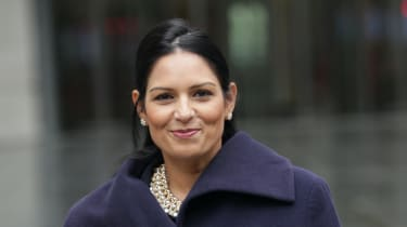 The Home Secretary Priti Patel