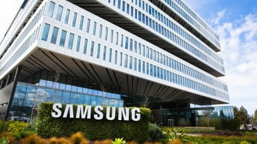 An image of the Samsung HQ building