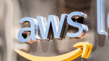 Amazon Web Service's 'AWS' logo