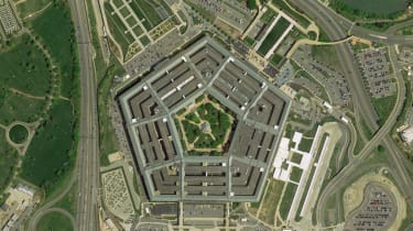 The Pentagon as seen from an aerial angle