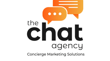 The chat agency logo
