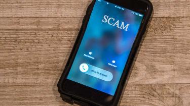 Scam caller ID