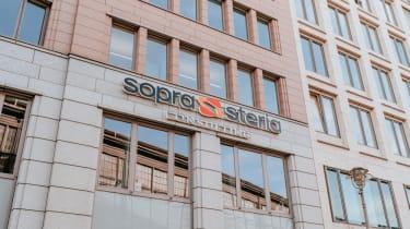 Facade of Sopra Steria headquarters