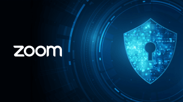 Digital lock with the Zoom logo