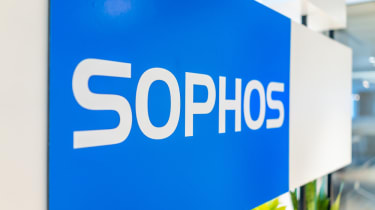 Sophos sign outside a building