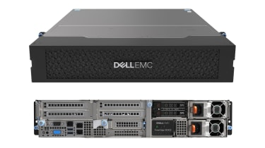 Dell EMC PowerEdge XE2420 front and rear