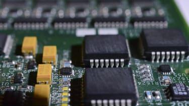 A microprocessor found inside a smartphone