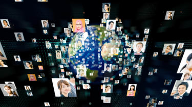 People around the world using video conferencing services