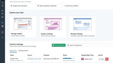 Screenshot of IBM Palantir Cloud Pak for Data