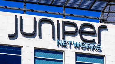 Juniper Networks sign on a building