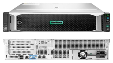 HPE ProLiant DL180 Gen10 front and rear