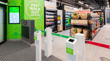 The Amazon Fresh store in Ealing, west London